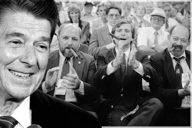 Ronald Reagan made it all worse: How Republicans -- the real party with their hands out -- convinced white America that government was out to get them