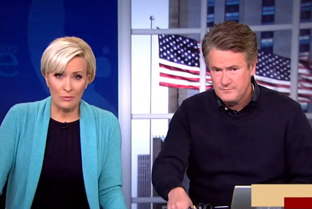 """Morning Joe panel admits discussing Clinton's tone is """"a ..."""