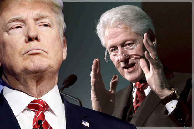 It must stop now: The media can't allow Trump to make this election about Bill Clinton