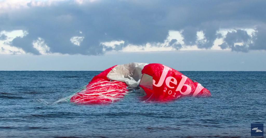 Jeb bush parachute