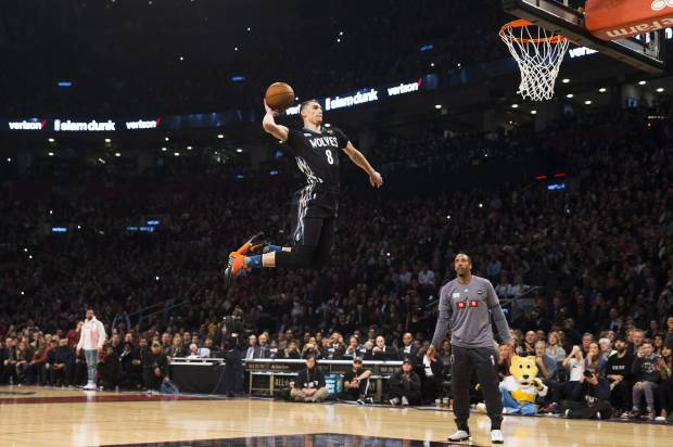 Aaron Gordon made dunk contests look easy at Arizona