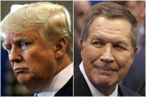 Trump-Kasich feud could have disastrous consequences in November