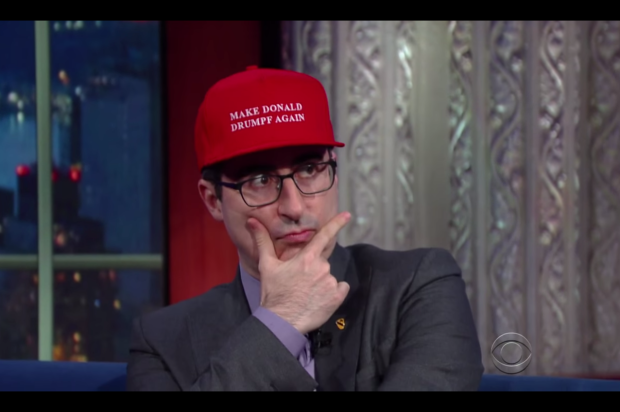 John Oliver Says Jay Z Wants A 'Make Donald Drumpf Again' Hat