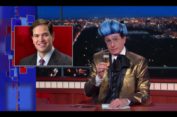 Stephen Colbert Mocks Marco Rubio in
