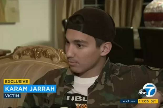 view download images  Images   Cop and 2 family members arrested for stabbing Arab teen in California, allegedly for speaking Arabic -