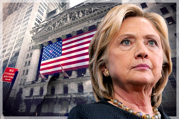 Hillary Clinton is Wall Street's preferred candidate: Financial execs pouring millions into her...