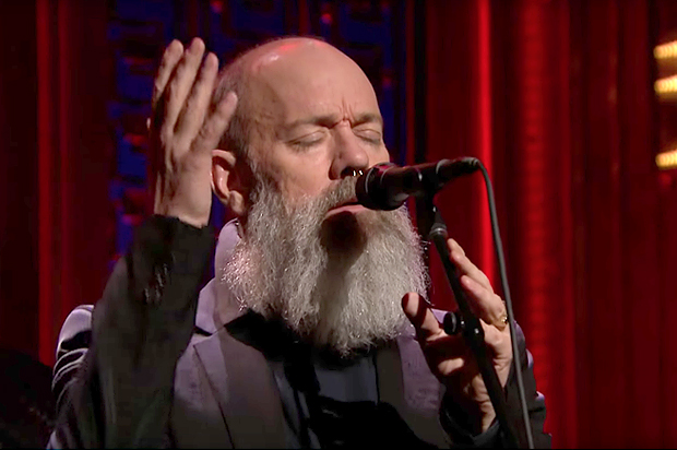 "We've missed you, Michael Stipe: Is this ""Tonight Show"" David Bowie tribute the hint of solo projects to come?"