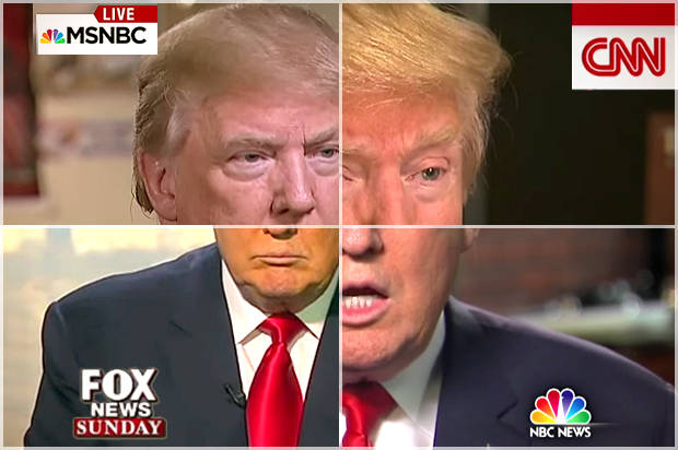 media and trump के लिए चित्र परिणाम