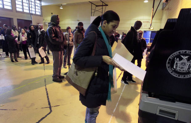 "view download images  Images   New York City Board of Elections to be audited: Widespread complaints of voting ""irregularities"" plagued the Big Apple's primary day -"