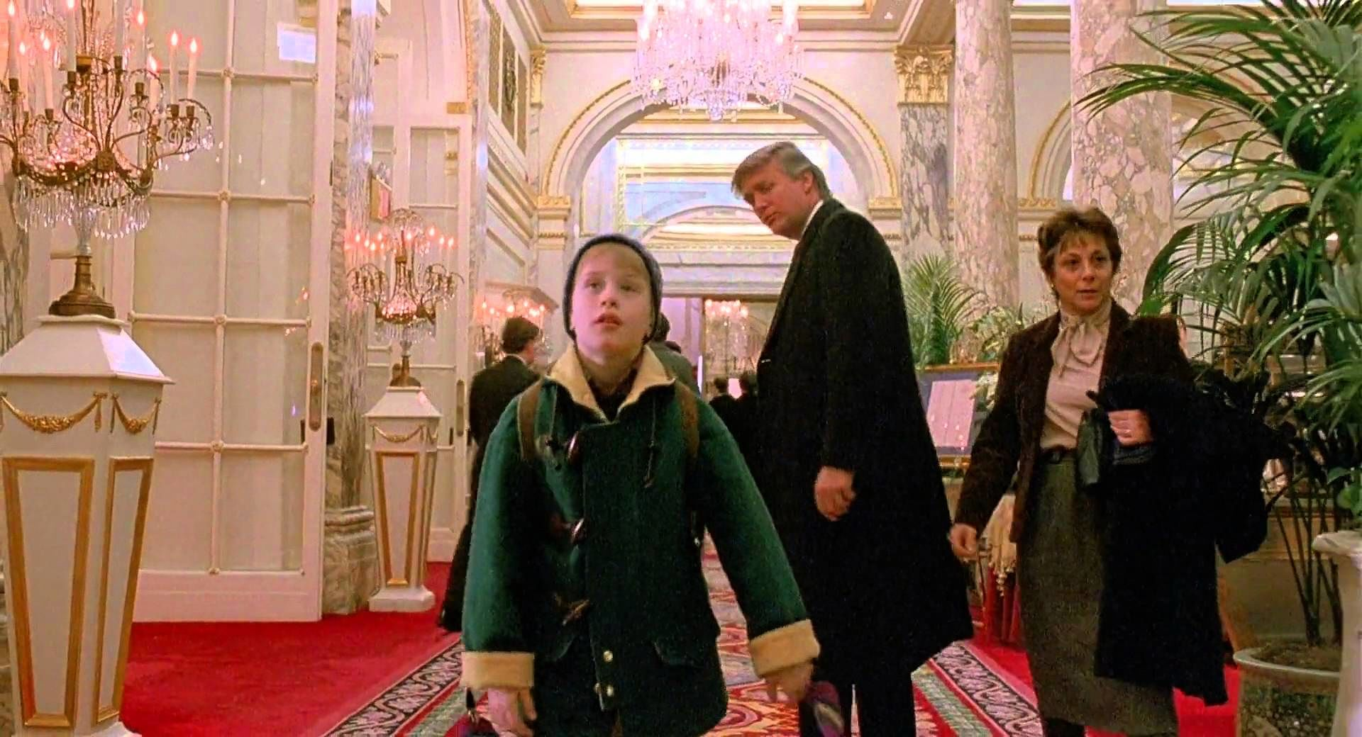 Image result for donald trump home alone