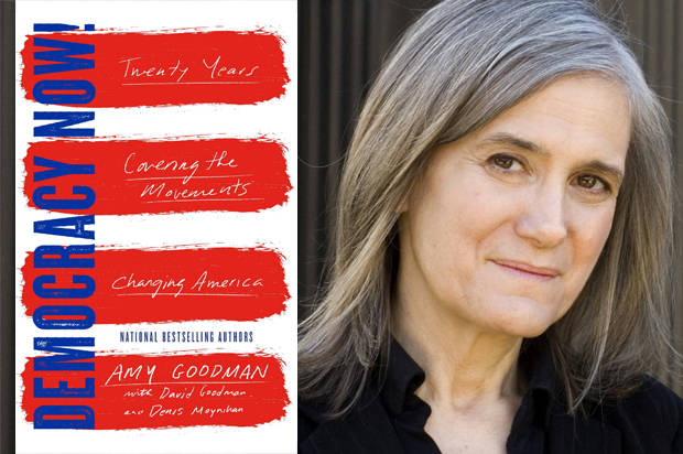"Amy Goodman agrees with Noam Chomsky: ""The media manufactures consent for Donald Trump"""