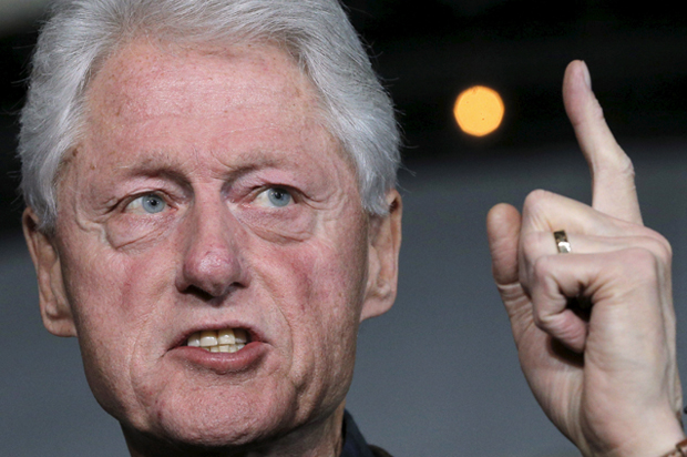 Bill Clinton can't s...