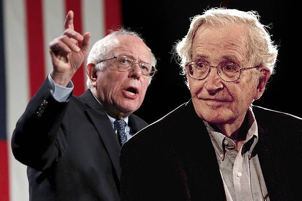 Bernie Sanders isn't a radical: Noam Chomsky is exactly right regarding how mainstream Bernie's policies really are