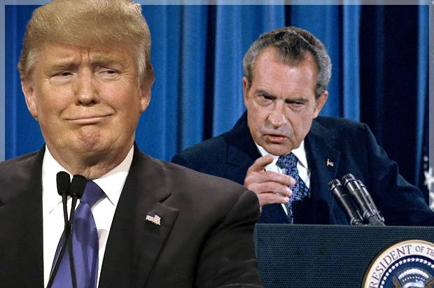 Shades of Nixon: Why Trump must tread carefully in the swamp