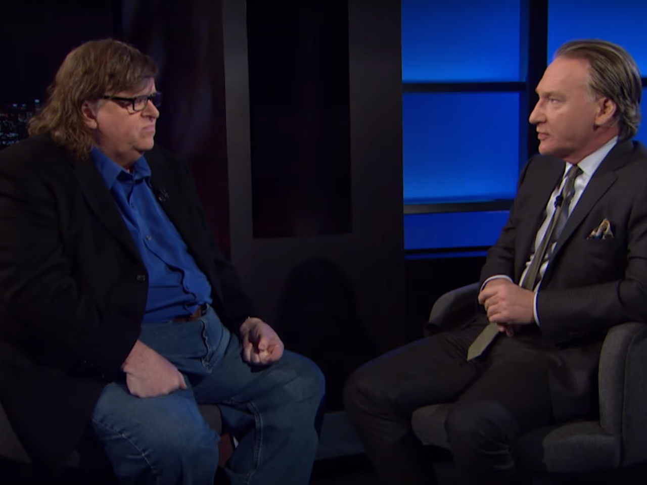 """""""This was a hate crime"""": Michael Moore tells Bill Maher that GOP's """"race hatred"""" caused Flint crisis - Salon.com"""