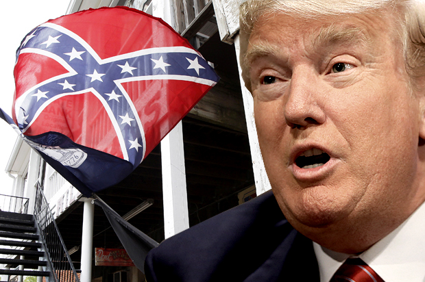 Donald Trump, president of the Confederacy: The Southern strategy ...
