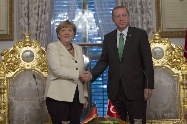 Germany sides with Turkey's increasingly authoritarian President Erdogan over its own citizen's free speech
