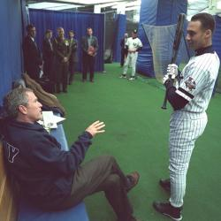 george-w-bush-derek-jeter