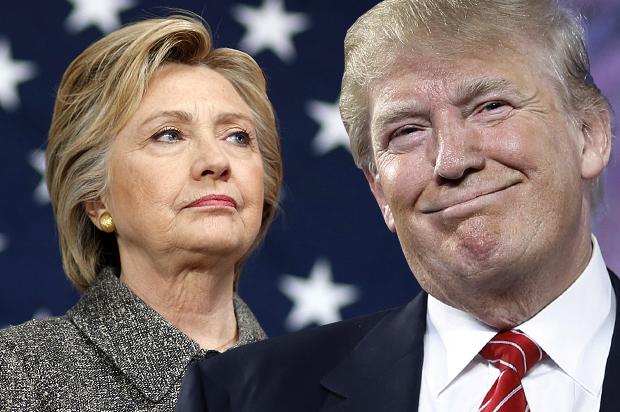 Výsledek obrázku pro hillary trump