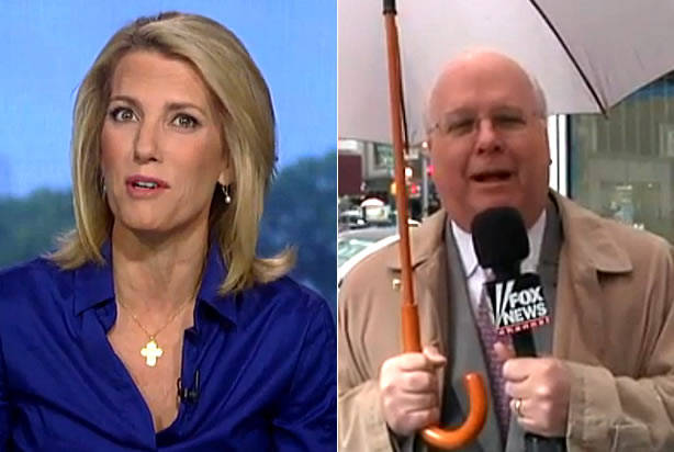 WATCH: Laura Ingraham and Karl Rove demonstrate depth of GOP divide with testy exchange about Fox News' transportation arrangements
