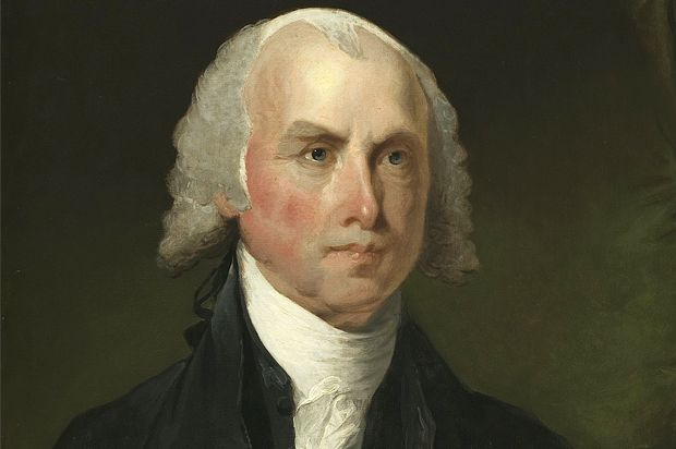 james madison was an artist  and the constitution should