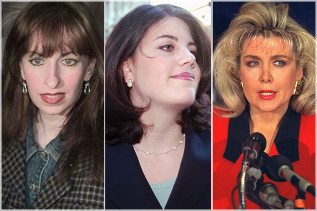 The Women Who Accused Bill Clinton A Primer On The Sex Scandals