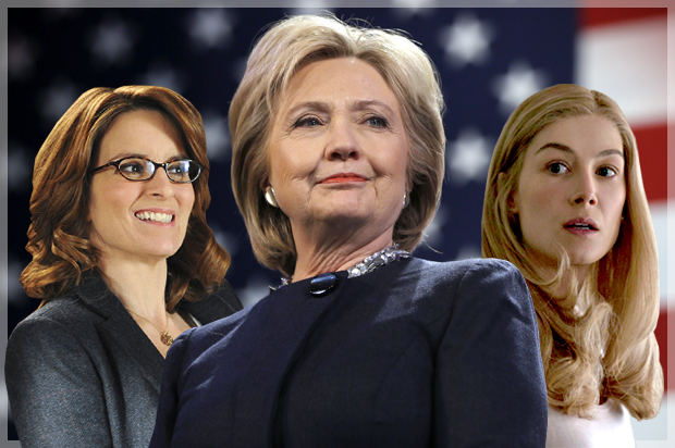 """""""Cool Girls"""" don't like Hillary: What """"Gone Girl"""" and """"30 Rock"""" taught me about politics, feminism and smashing the dude-bro patriarchy"""