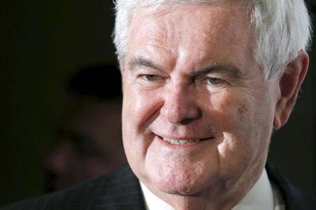 WATCH: Newt Gingrich t...