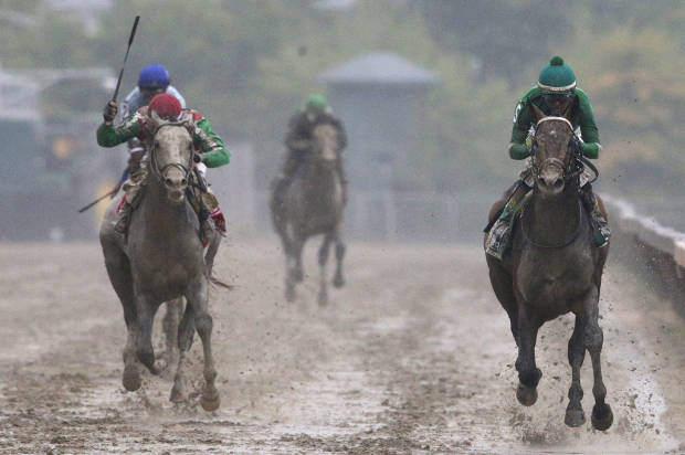Derby victor Nyquist's trip to Belmont delayed by fever