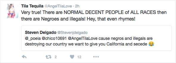 Tila Tequila has Twitter meltdown after getting heat for