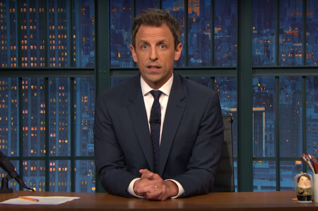 Seth Meyers Bans Trump From 'The Late Night'