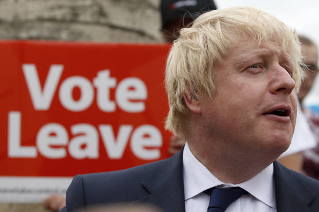 Pro-Brexit leader Johnson says nothing will change in short term