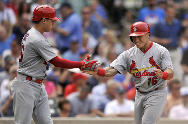 Big sixth inning gives Cardinals road sweep of Cubs