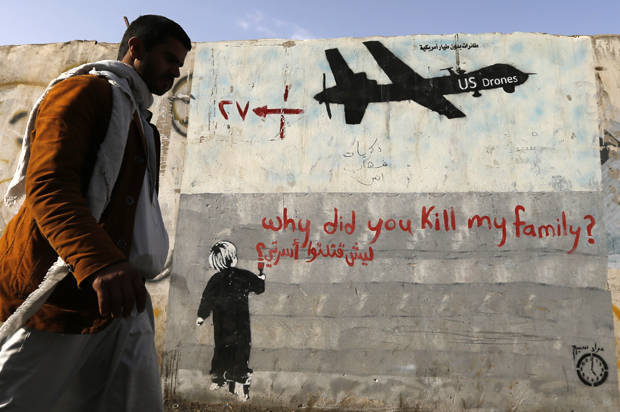 U.S. claims drones only killed 116 civilians; experts say it's way more