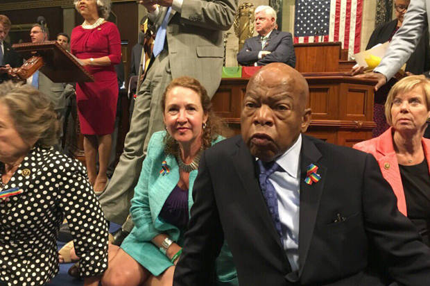 The Democrats could learn from the NRA: A sit-in on the House floor is vain absent a passionate voter base