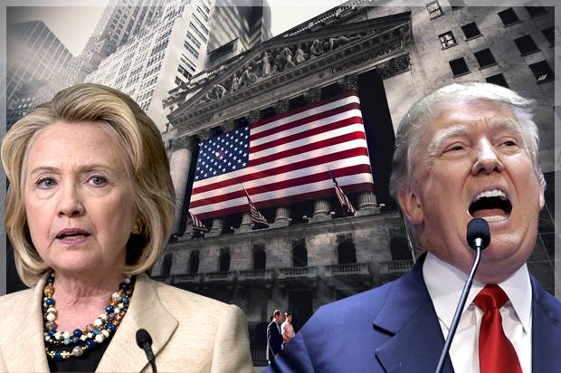 Want to know who will win the White House? Watch the stock market