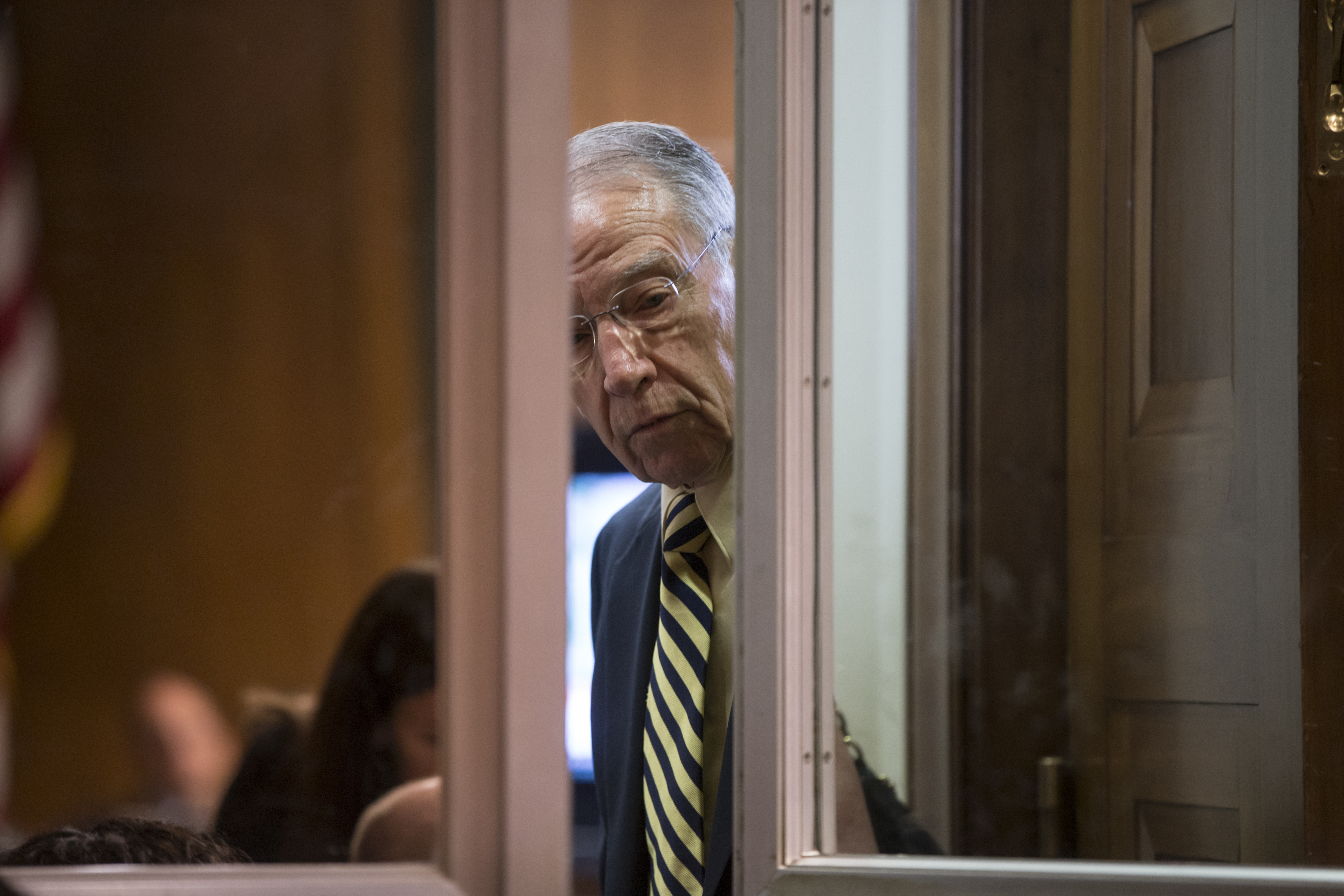 Chuck Grassley is continuing his surprisingly long feud ...