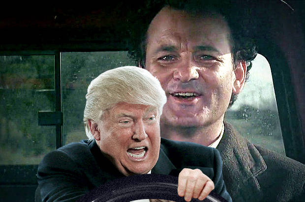 Donald Trump; Groundhog Day