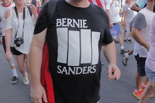 black flag sanders shirt