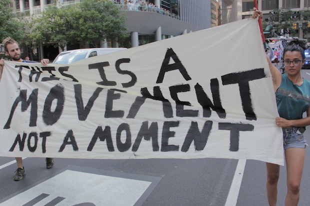 dnc movement not moment