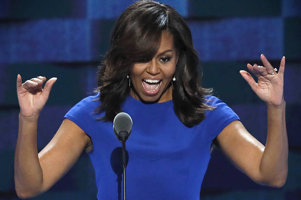 "Michelle Obama's dignified restraint: ""When they go low ..."