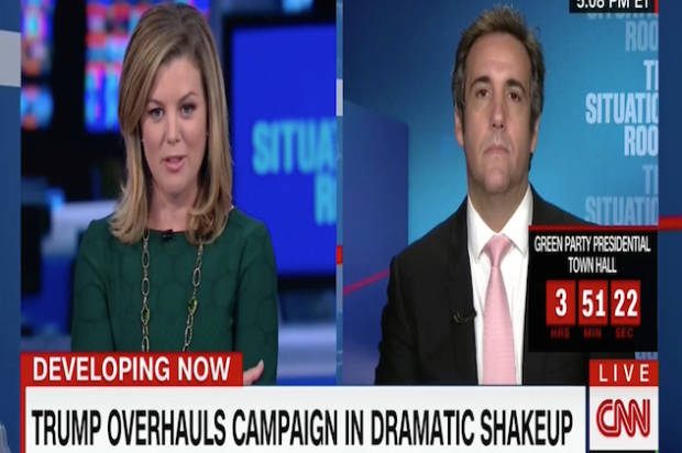 Trump staffer shut down in extremely awkward CNN interview
