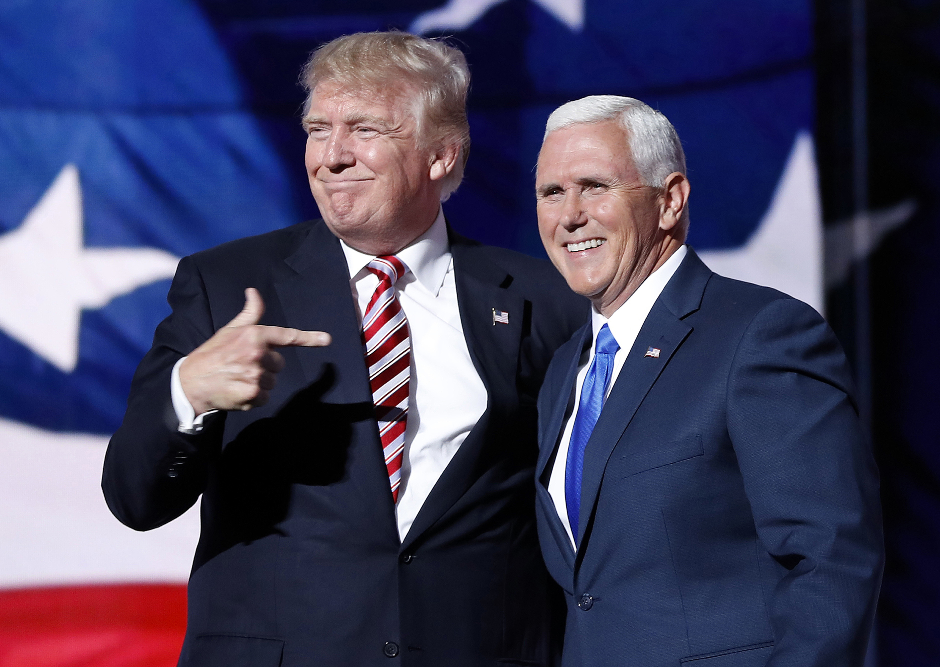 Donald Trump Throws Running Mate Mike Pence Under The