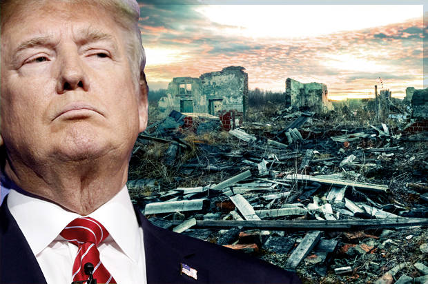 Image result for trump destroys america