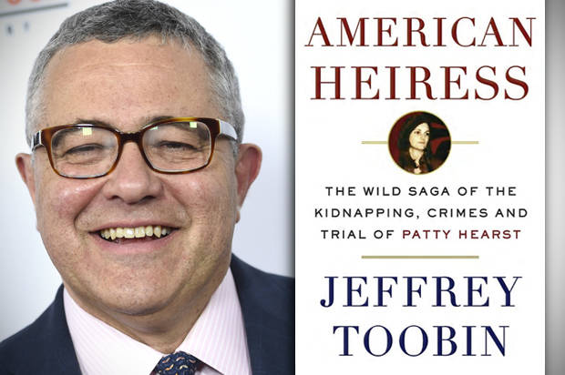 In american heiress jeffrey toobin looks at what patty hearst