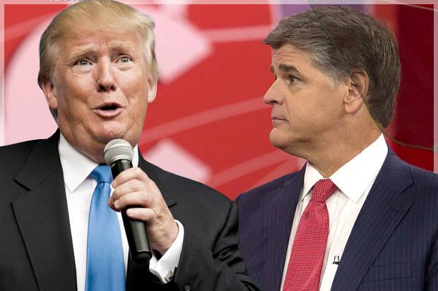 Image result for hannity trump