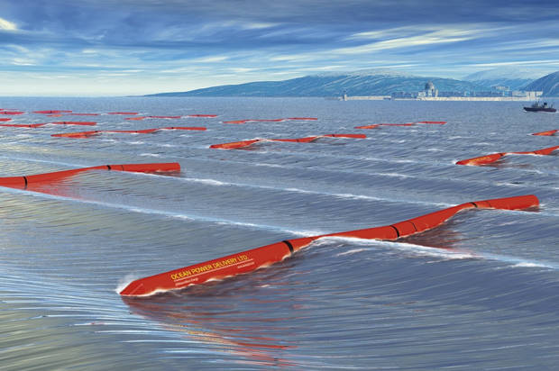 Is blue the new green?Wave power could revolutionize the renewable-energy game