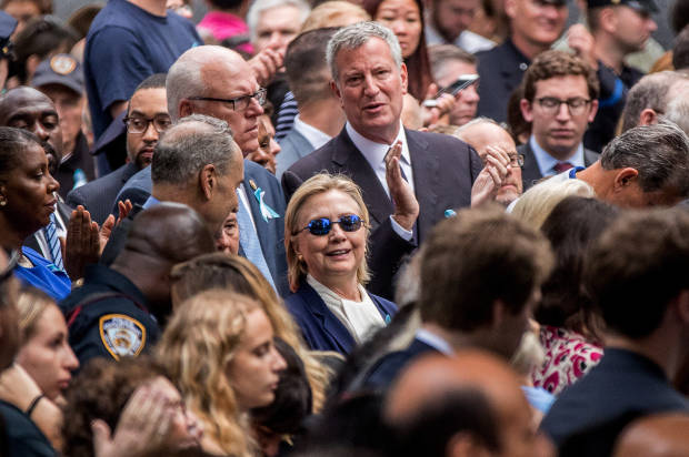 Clinton diagnosed with pneumonia