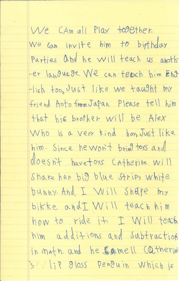 Alex letter