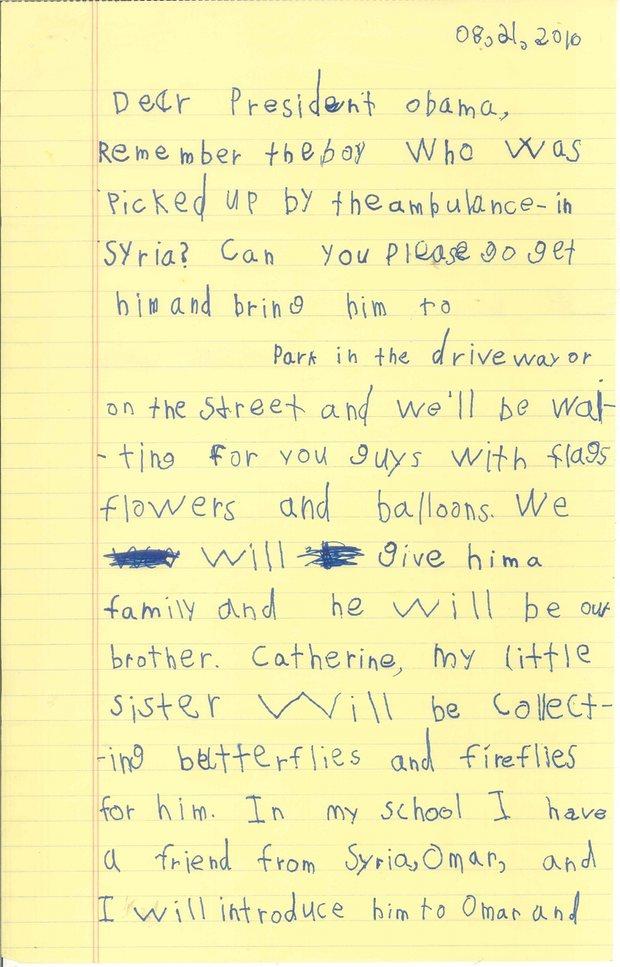 Alexs letter